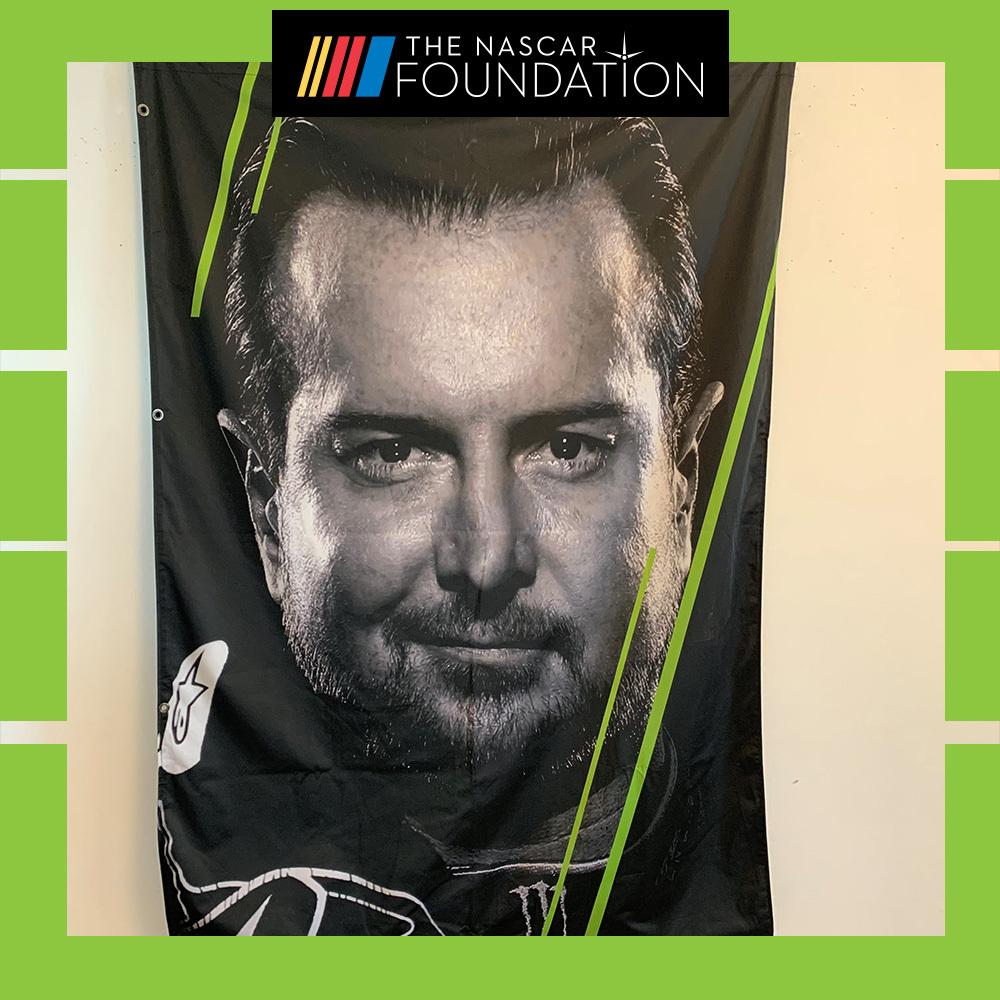 NASCAR's Kurt Busch MENCS Playoff Banner!