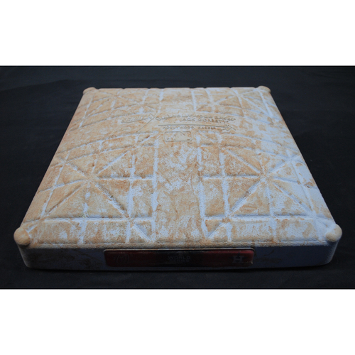 Photo of Game-Used Base - 2019 World Series - Washington Nationals vs. Houston Astros - World Series Game 7 - First Base - Used Innings 1-5 - 10/30/2019