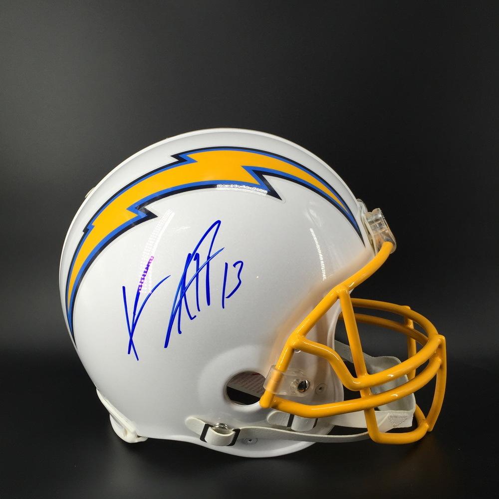 Chargers - Keenan Allen Signed Proline Helmet