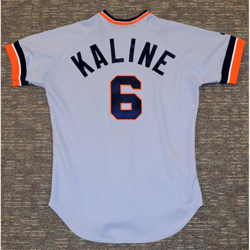 Photo of Al Kaline Detroit Tigers #6 Road Jersey (NOT MLB AUTHENTICATED)