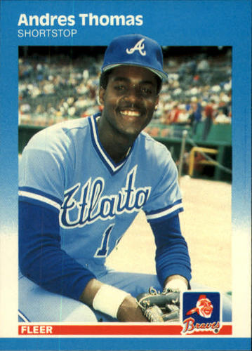 Photo of 1987 Fleer #531 Andres Thomas