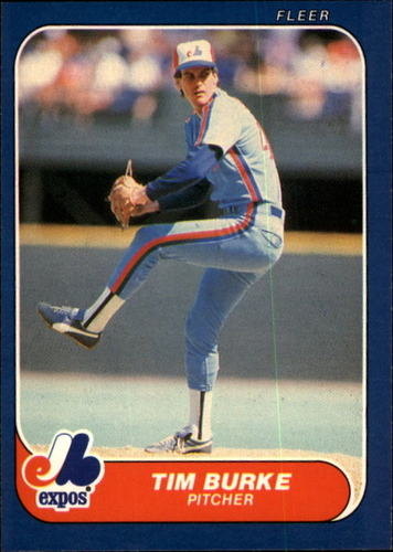 Photo of 1986 Fleer #245 Tim Burke