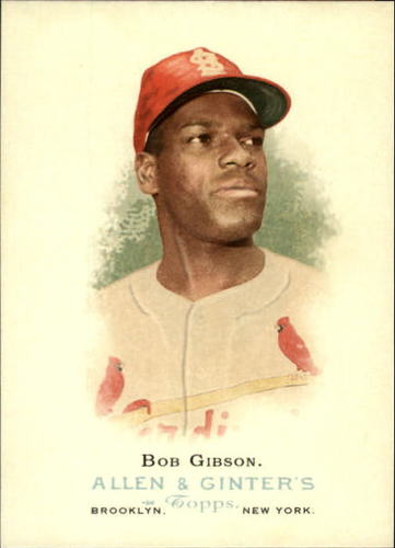 Photo of 2006 Topps Allen and Ginter #283 Bob Gibson
