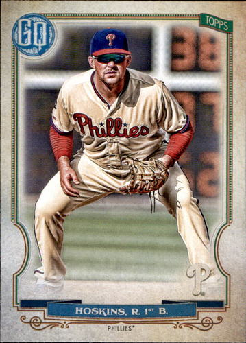 Photo of 2020 Topps Gypsy Queen #115 Rhys Hoskins
