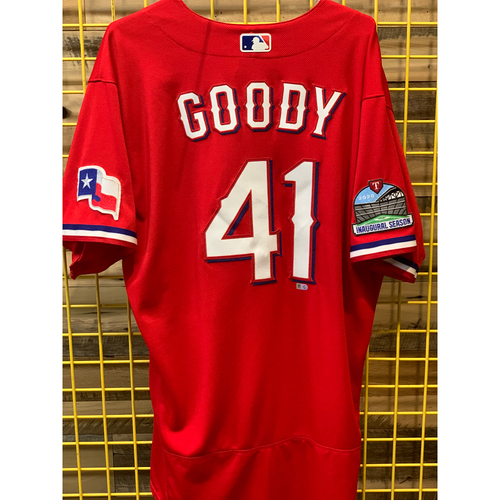 Photo of Nick Goody Team-Issued Red Jersey