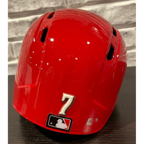 Photo of Team-Issued Helmet -- Left Ear Flap -- Size 7 3/8