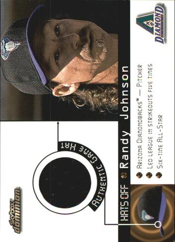 Photo of 2000 SkyBox Dominion Hats Off #6 Randy Johnson