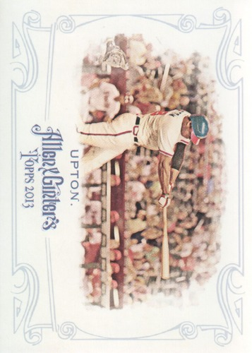 Photo of 2013 Topps Allen and Ginter #148 Justin Upton
