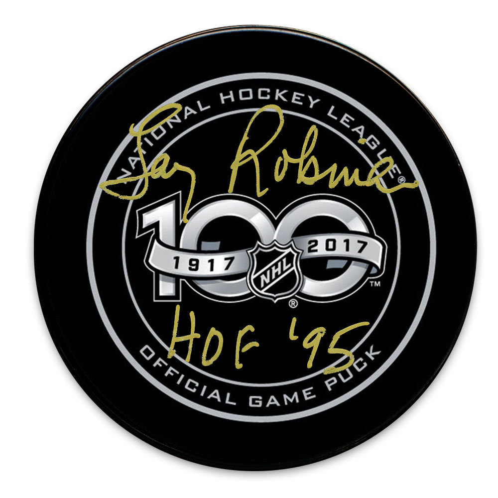 Luc Robitaille 1991 NHL All-Star Game Autographed Puck Los Angeles Kings
