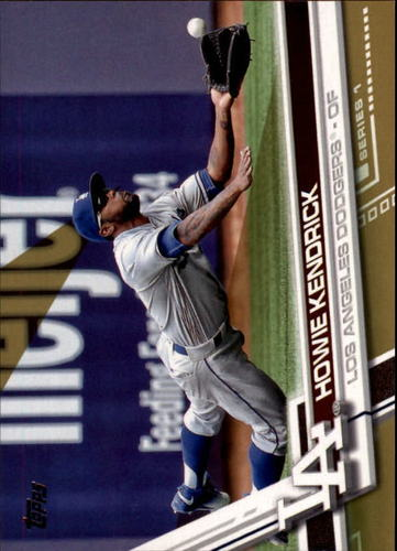 Photo of 2017 Topps Gold #107 Howie Kendrick