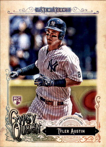 Photo of 2017 Topps Gypsy Queen #83 Tyler Austin Rookie Card