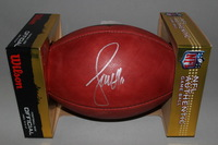 PCC - CARDINALS LARRY FITZGERALD SIGNED AUTHENTIC FOOTBALL