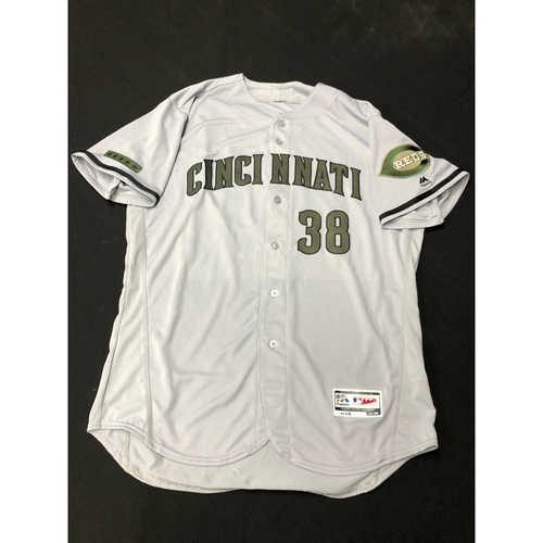 Photo of Bryan Price -- Team-Issued -- Memorial Day Jersey