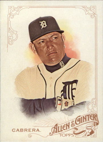 Photo of 2015 Topps Allen and Ginter #187 Miguel Cabrera