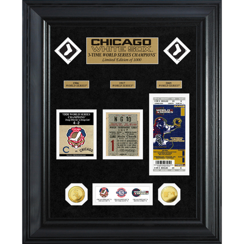Photo of Chicago White Sox World Series Deluxe Gold Coin & Ticket Collection