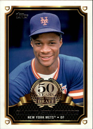 Photo of 2014 Topps 50 Years of the Draft #50YD9 Darryl Strawberry