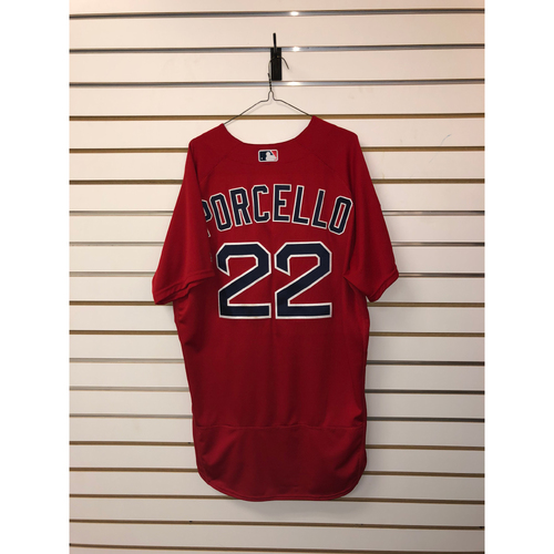 Photo of Rick Porcello Team Issued 2019 Spring Training Jersey