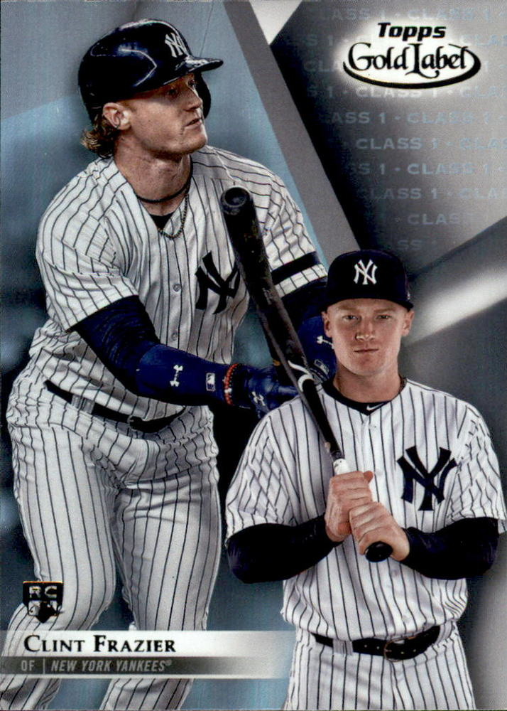 2018 Topps Gold Label Class 1 #73 Clint Frazier Rookie Card