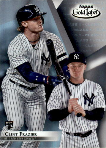 Photo of 2018 Topps Gold Label Class 1 #73 Clint Frazier Rookie Card