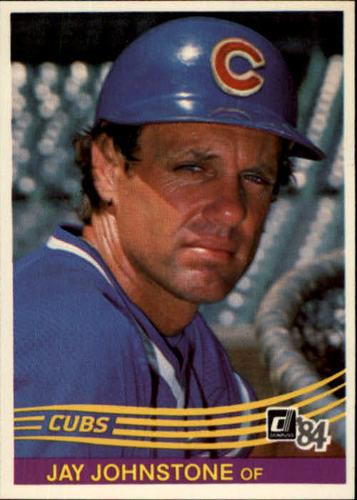 Photo of 1984 Donruss #540 Jay Johnstone