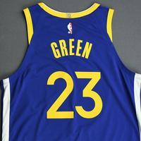 Draymond Green - Golden State Warriors - Game-Worn Icon Edition Jersey - 2019-20 Season