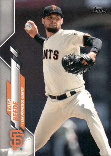 Photo of 2020 Topps #67 Tyler Beede