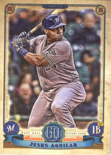 Photo of 2019 Topps Gypsy Queen #2 Jesus Aguilar