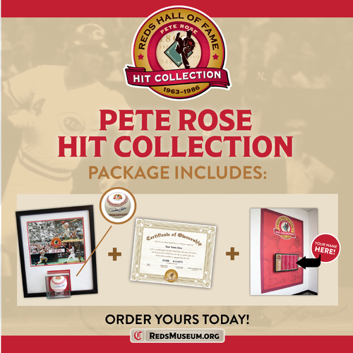 Pete Rose Hit Collection: Hit Number 4256