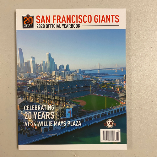 Photo of 2020 San Francisco Giants Yearbook