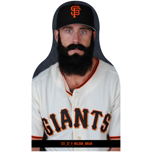 Photo of Giants Community Fund: Giants Brian Wilson Cutout