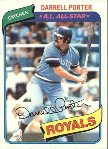 Photo of 1980 Topps #360 Darrell Porter DP