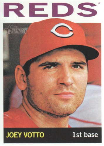 Photo of 2013 Topps Heritage #425A Joey Votto