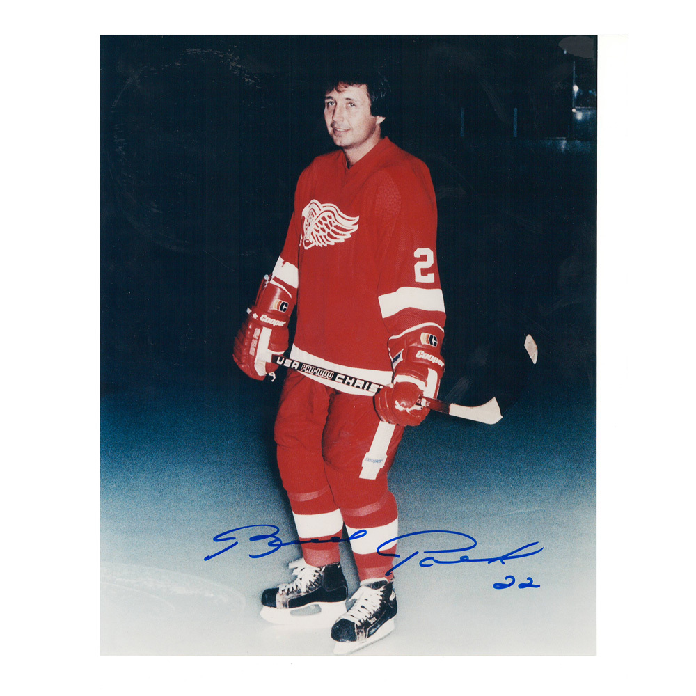 BRAD PARK Signed Detroit Red Wings 8 X 10 Photo - 70120