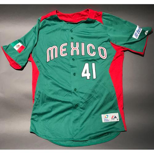 2013 World Baseball Classic Jersey - Mexico Jersey, Marco Estrada #41