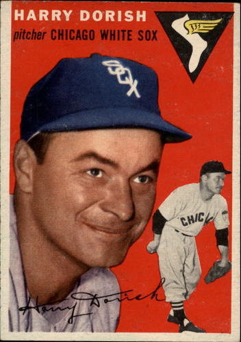 Photo of 1954 Topps #110 Harry Dorish