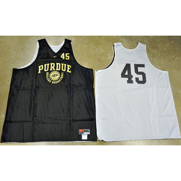 Photo of Nike Men's Basketball Official Practice Jersey // Boilers Basketball // No. 45