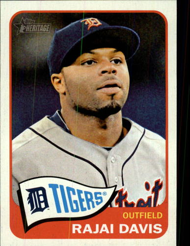 Photo of 2014 Topps Heritage #406 Rajai Davis
