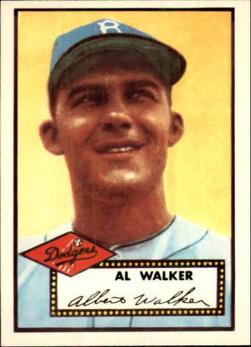 Photo of 1983 Topps 1952 Reprint #319 Al Walker