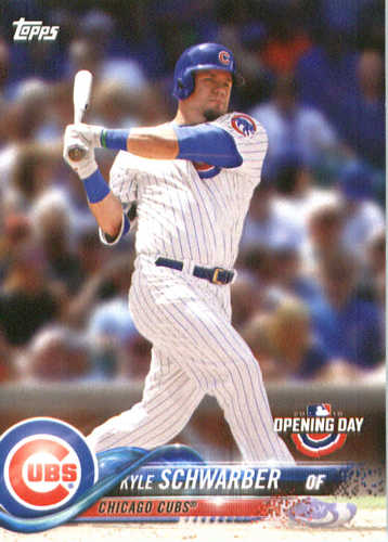 Photo of 2018 Topps Opening Day #24 Kyle Schwarber