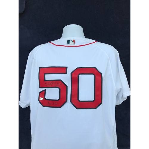Photo of Mauer & Friends Kids Classic Charity Auction: Mookie Betts Autographed Jersey