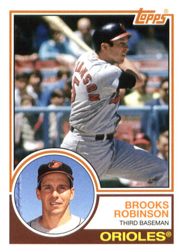 Photo of 2015 Topps Archives #213 Brooks Robinson