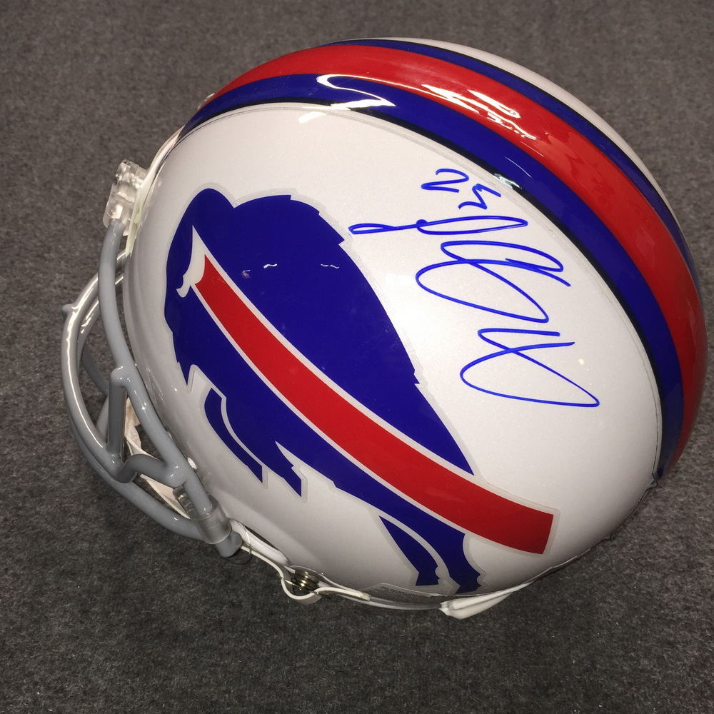 PCC - Bills Lesean McCoy signed Bills proline helmet
