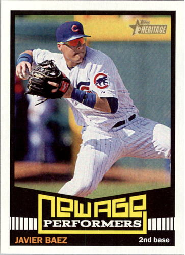 Photo of 2015 Topps Heritage New Age Performers #NAP15 Javier Baez