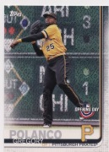 Photo of 2019 Topps Opening Day #158 Gregory Polanco