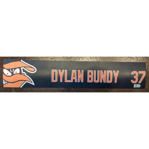 Photo of Dylan Bundy - 2019 Locker Tag: Team-Issued