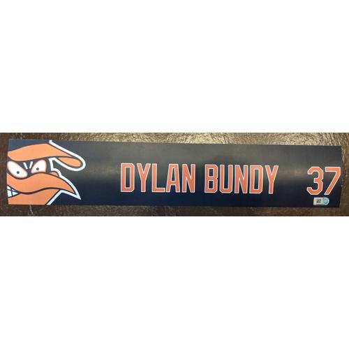 Photo of Dylan Bundy - 2019 Locker Tag: Team-Issued