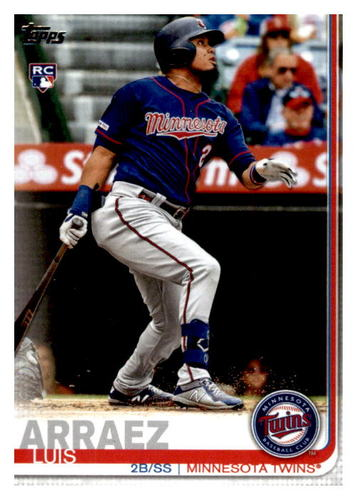 Photo of 2019 Topps Update #US247 Luis Arraez Rookie Card