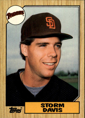 Photo of 1987 Topps Traded #26T Storm Davis