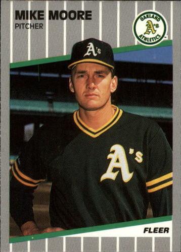 Photo of 1989 Fleer Update #55 Mike Moore