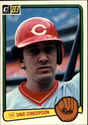 Photo of 1983 Donruss #148 Dave Concepcion